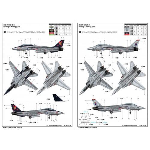GRUMMAN F-14 B TOMCAT -Escala 1/144- TRUMPETER 03918