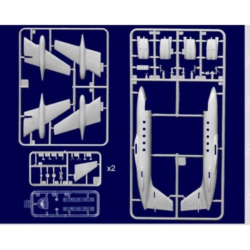 LOCKHEED VC-140 B JETSTAR - escala 1/144