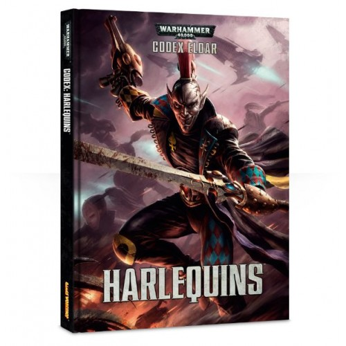 CODEX HARLEQUINS (ESPAÑOL) - GAMES WORKSHOP 58-01
