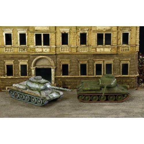 CARRO DE COMBATE T-34/85 (2 unidades) MONTAJE RAPIDO - Italeri 7515