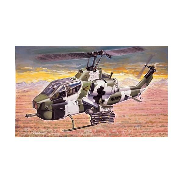BELL AH-1W SUPER COBRA ESCALA 1/72 - ITALERI 160