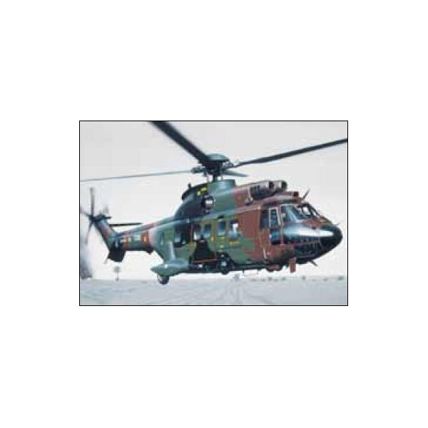 AEROSPATIALE AS-332 M1 SUPER PUMA -Escala 1/72- Heller 80367