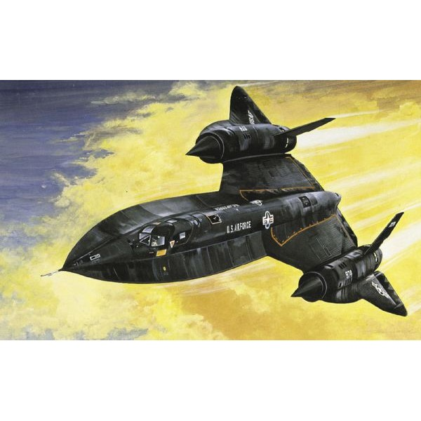 LOCKHEED SR-71 BLACKBIRD escala 1/72 italeri 145