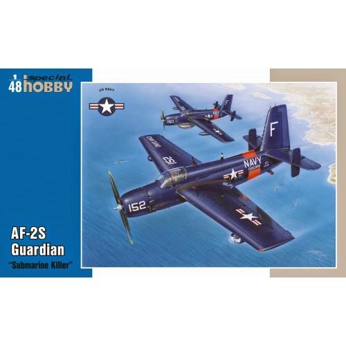 GRUMMAN AF-2S GUARDIAN (Submarine Killer)