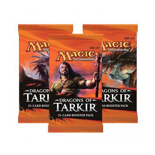 MAGIC SOBRE DRAGONES DE TARKIR (15 CARTAS)