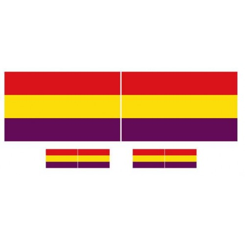 BANDERA: REPUBLICA ESPAÑOLA
