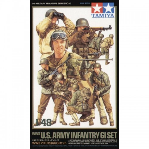 INFANTERIA U.S. ARMY -Escala 1/48- Tamiya 32516