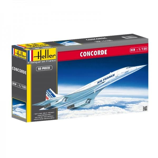 BAC / AEROSPATIALE CONCORDE -Escala 1/125- Heller 80445