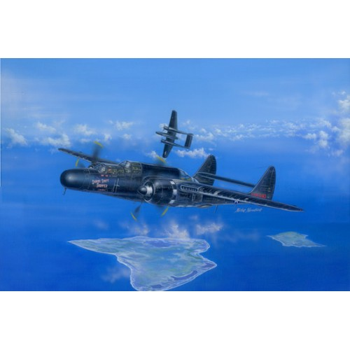 NORTHROP P-61 B BLACK WIDOW -Escala 1/48- Hobby Boss 81731