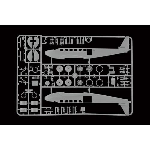 JUNKERS JU-52 / 3M CIVIL - escala 1/72 - ITALERI 150