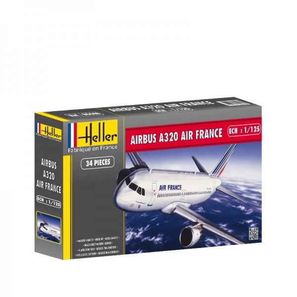 AIRBUS A320 AIR FRANCE -Escala 1/125- Heller 80448