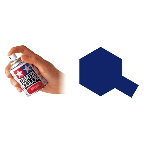 SPRAY ESMALTE TS-19 AZUL METALICO (100 ml) - Tamiya TS19