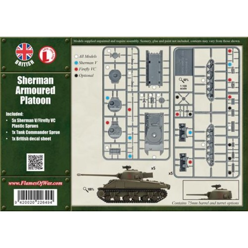 SHERMAN ARMOURED PLATOON