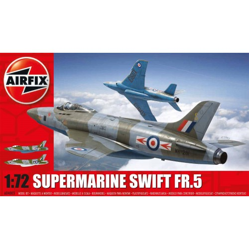 SUPERMARINE SWIFT FR.5 1/72 - Airfix A04003