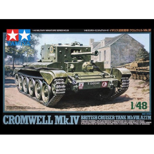 CARRO DE COMBATE CROMWELL MK-IV -Escala 32528- Tamiya 32528