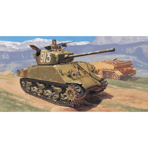 CARRO DE COMBATE M-4 A2(W) SHERMAN (76 mm)