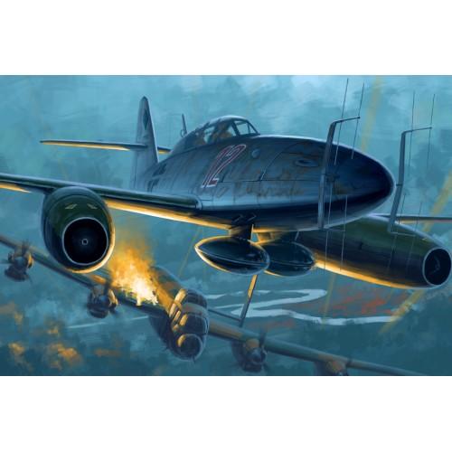 MESSERCHMITT Me-262 B-1a/U1 -Escala 1/48 HOBBYBOSS 80379