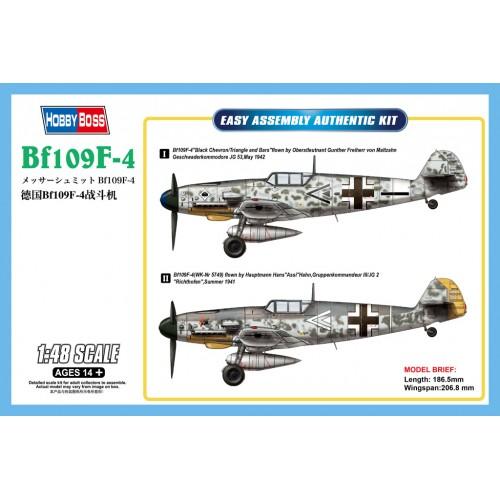 MESSERSCHMITT Bf-109 F-4 -1/48- Hobby Boss 81749