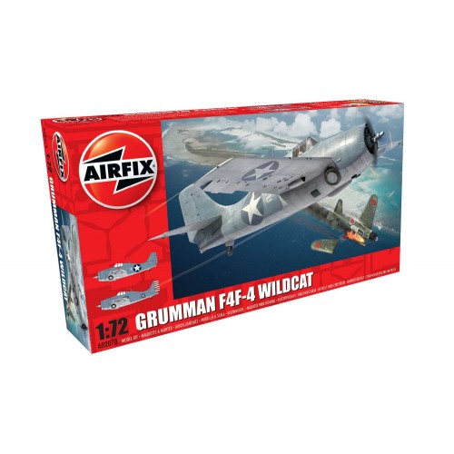 GRUMMAN F4F-4 WILDCAT -Escala 1/72- Airfix A02070