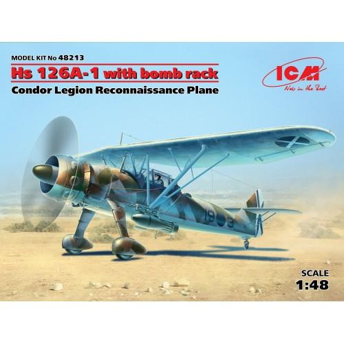 HENSCHEL HS-126 A1 C/ESP -1/48 - ICM 48213