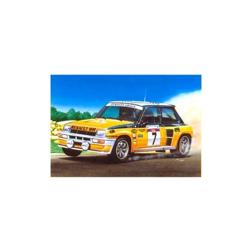 RENAULT R5 TURBO (Rally de Corcega 1982) -Escala 1/24- Heller 80717