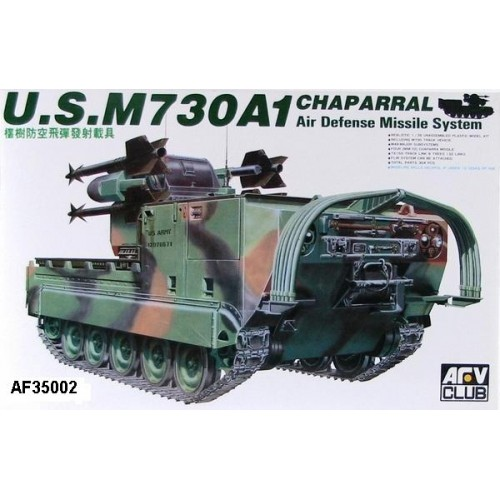 SISTEMA ANTI-AEREO M-730 A1 CHAPARRAL -Escala 1/35- AFV Club AF35002