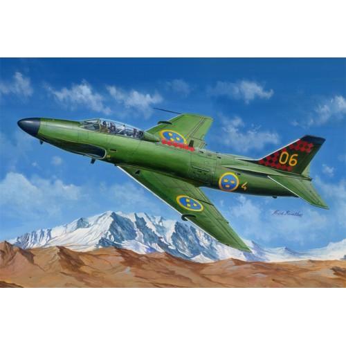 SAAB J-32 B/E LANSEN - ESCALA 1/48 - HOBBYBOSS 81752