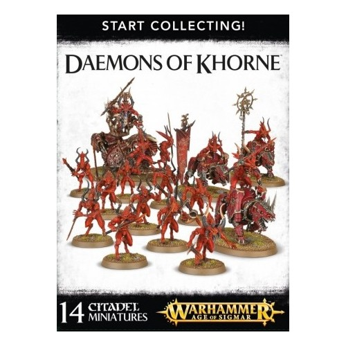 DEAMONS OF KHORNE START COLLECTING