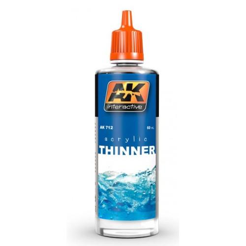DILUYENTE PINTURAS AK (60 ml)