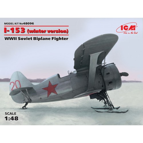 POLIKARPOV I-153 CHAIKA (Winter version)
