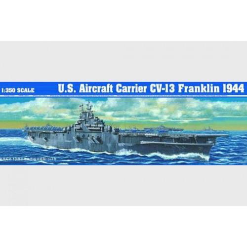 PORTAAVIONES U.S.S. FRANKLIN CV-13 -Escala 1/350- Trumpeter 05604