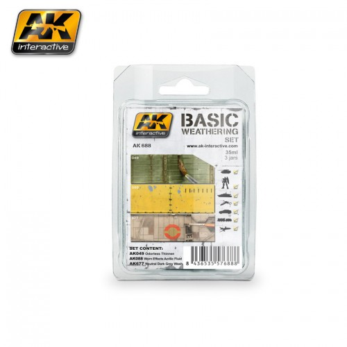 Weathering set: BASIC - AK Interactive 688