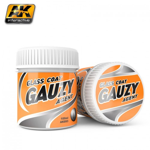 GAUZY AGENT GLASS COAT (100 ml) - AK Interactive AK893