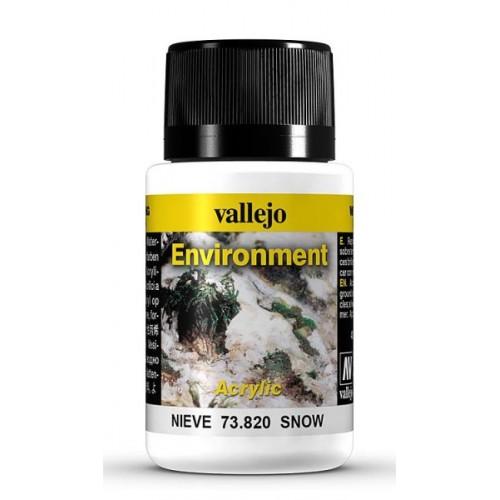 Weathering Effects: EFECTO TEXTURA NIEVE 40 ml - VALLEJO 73820