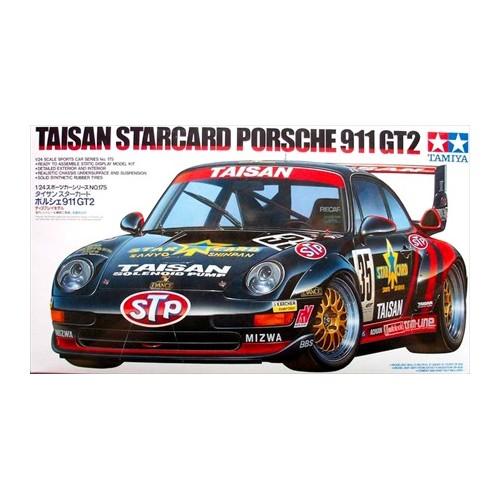 PORSCHE 911 GT2 TAISAN STARCARD -Escala 1/24- TAMIYA 24175