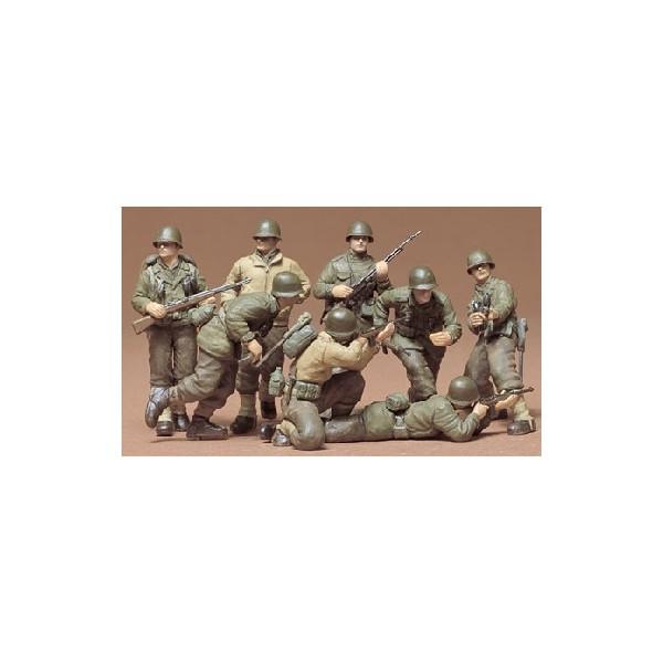 INFANTERIA U.S. ARMY (EUROPA) 1/35 - Tamiya 35048