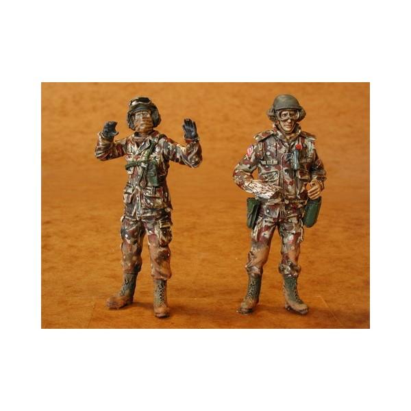 TRIPULACION DE CARRO U.S. ARMY (Escudo del Desierto) 1/35