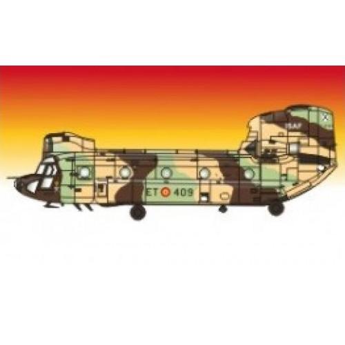 CALCAS CH-47 C/D CHINOOK 1/72 - Series Españolas SE3072