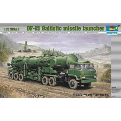 CAMION LANZADOR MISILES BALISTICO DF-21 - Trumpeter 00202