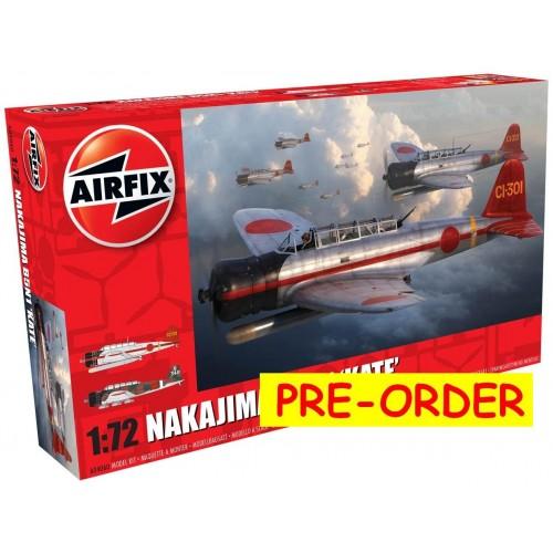NAKAJIMA B5N1 KATE - Airfix A04060 - ESCALA 1/72