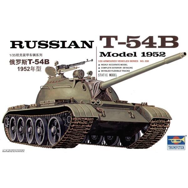 CARRO COMBATE T-54B (1952) -1/35- Trumpeter 00338