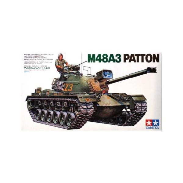 CARRO DE COMBATE M-48 A3 PATTON ESCALA 1/35 - TAMIYA 35120
