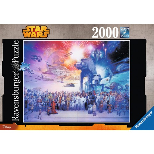 PUZZLE 2000 Pzas STAR WARS: El universo expandido de STAR WARS - Ravensburger 16701