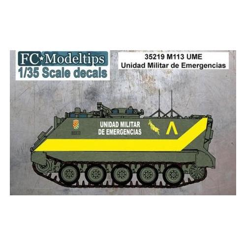 CALCAS M-113 UME 1/35 - FC Modeltips 35219