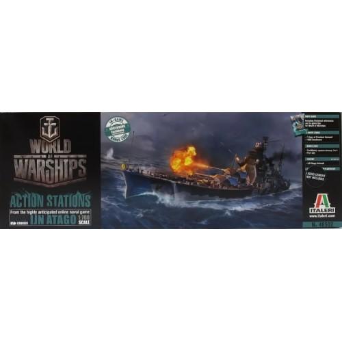 WORLD OF WARSHIPS: ATAGO 1/700 - Italeri 46502