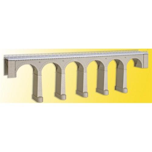 PUENTE DE PIEDRA (630 x 80 x 178 mm) -Escala H0 / 1/87- Kibri 39724