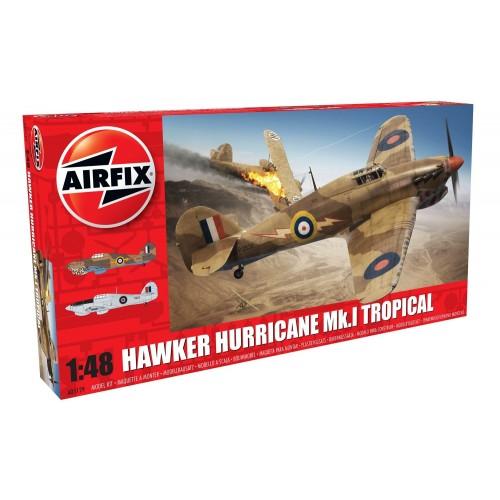 HAWKER HURRICANE MK-I Trop -1/48 - AIRFIX A05129