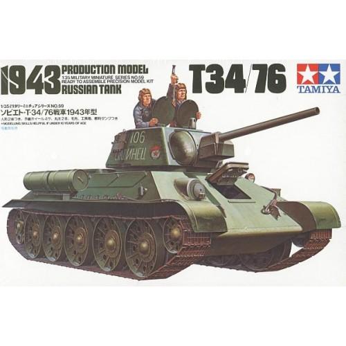 CARRO DE COMBATE T-34/76 Mod. 1.943