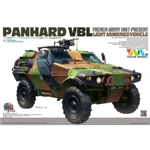 VEHICULO BLINDADO PANHARD VBL - Tiger Model 4603