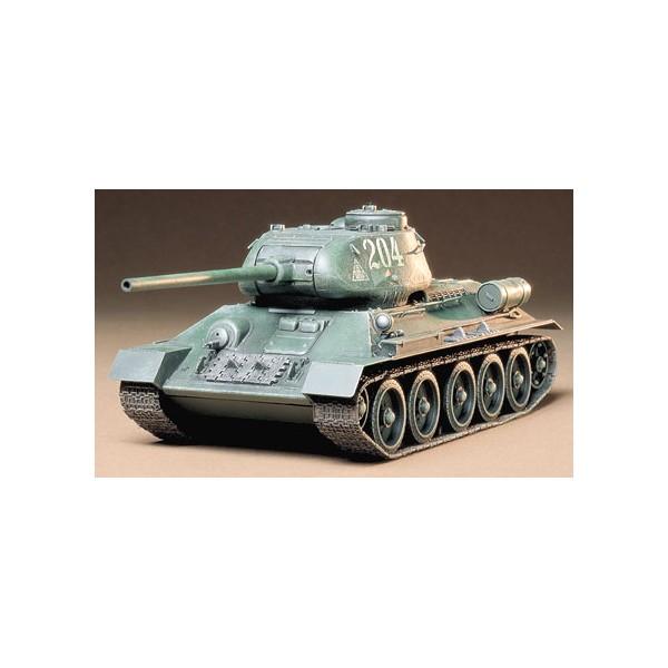 CARRO DE COMBATE T-34/85 -Escala 1/35- Tamiya 35138